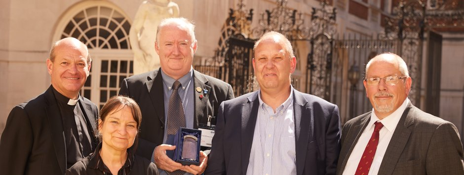 Railway Mission Chaplains: BTP's Make the Difference Awards 2018