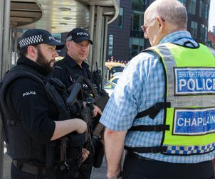 Manchester Vic Terror Attack Railway Mission Chaplain Paul Holloway